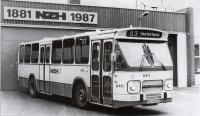 NZH garage 1987 met daf stadsbus