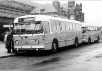 Station Haarlem 1964 met lijn 70 naar ijmuiden