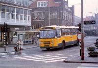 Station Haarlem 1987 met lijn 70 naar ijmuiden