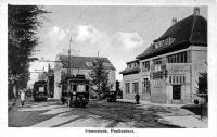 Heemstede postkantoor 1946 tram naar schoten en heemstede
