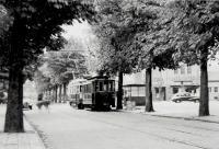 Lijn 1 op Binnenweg Heemstede 1948