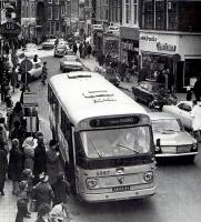 Haarlem centrum  met lijn 3 naar Haarlem noord 1971