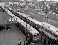 Station Haarlem treinstagnatie 1966