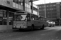 Haarlem station met lijn 71 naar schalkwijk 1970