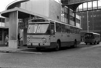 Haarlem station met lijn 93 naar noorwijkerh sancta maria 1970
