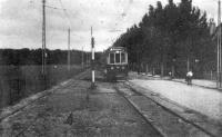 Lijn Haarlem Kleverlaan naar Bloemedaal heeft gereden van 1929 tot 1934