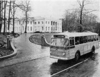 Bloemendaal gem.huis met lijn 71 naar oosterduin 1966