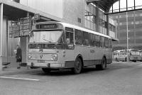 Haarlem station met lijn 1 naar Heemstede 1967