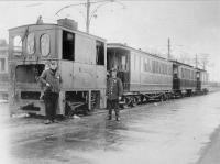 Heemstede  glipperweg eindpunt van stoomtram uit leiden 1925
