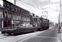 Haarlem, bij remise met  werkwagen1957