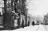 Hillegom, stoomtram 1916