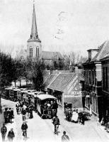 Hillegom met stoomtram naar Leiden 1931