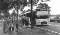 Opening busbaan Schipholweg 1992