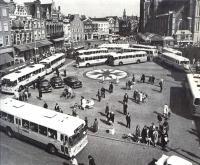 Haarlem, Grote markt 1962
