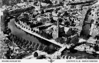 Luchtfoto 2 Spaarne Haarlem 1900