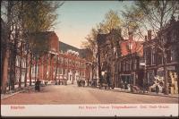Haarlem Ged. Oude Gracht met Postkantoor 1919-1922