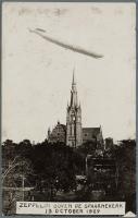Zeppelin boven Spaarnekerk 1929