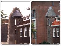 Vergelijking trappenhuis oud en nieuw