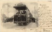 Electrische tram haarlem zandvoort 1900