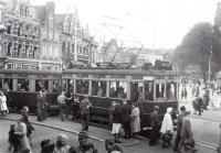 Halte grote markt 1948