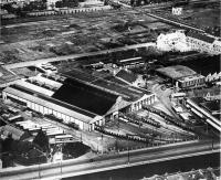 luchtfoto remise leidesevaart 1949