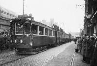 Openingsrit, Haarlem station naar leiden 1932