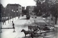 Frans halsplein bouw kennemerbrug 1926