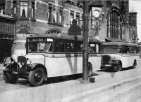Opening hlemse buslijnen station 1934